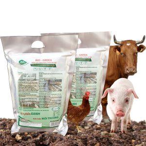 đệm lót sinh học thảo dược cho chăn nuôi, xử lý mùi hôi chuồng trại