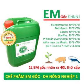Chế phẩm sinh học EM gốc Đại học NN1 Hà Nội
