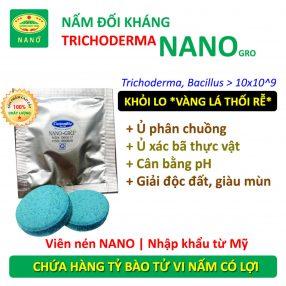 Nấm đối kháng trichoderma nano gro
