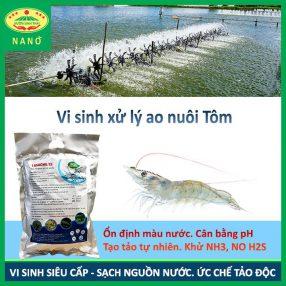 men vi sinh xử lý nước ao hồ nuôi cá tôm 6